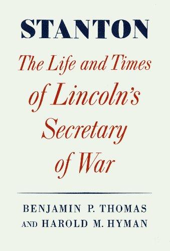 Stanton: Life And Times of Lincoln's Secretary of War (Bürgerkrieg Knöpfe)