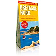 BRETAGNE NORD (MAP&GUIDE XL) CARTE LAMINEE