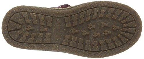 Ocra Unisex-Kinder 494ms Chelsea Boots Violett (Bordeaux)