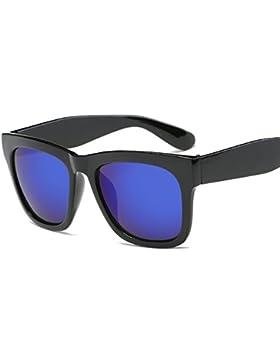 LVZAIXI Lens Wayfarer Occhiali da sole - Style Unisex Shades UV400 Protective Mens Ladies ( Colore : Blu )