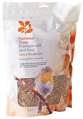 National Trust Wild Bird Food Premium Mealworms 1500g (Approx 8 Litre) from National Trust