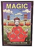 Mini Coloring Book (magician) Sizes