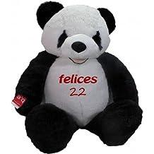 Oso panda Lolo personalizado en la barriga 165 cm