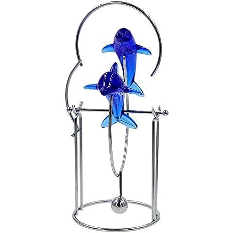 Bojin delfín Ejecutivo de escritorio juguete–dos delfines
