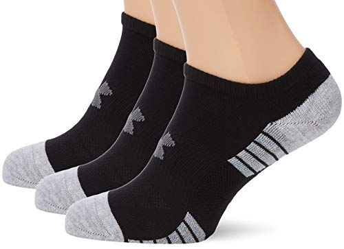Under Armour Herren UA HeatGear Tech NS Socken, Schwarz, Large -