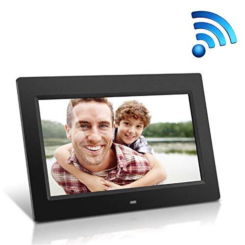 RENYAYA 15 Zoll Wi-Fi Cloud Digital Photo Frame HD1280*800 Multifunktion Google Android Electronic Album Network mit Bildschirmspieler Home Decoration,Black
