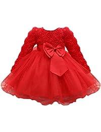 Vestidos cortos rojos para ninas