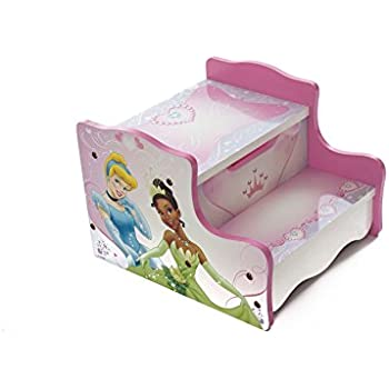 Pink Disney Princess Kids Wooden Step Stool u0026 Playroom Bedroom Storage Furniture  sc 1 st  Amazon UK & Pink Disney Princess Kids Wooden Step Stool u0026 Playroom Bedroom ... islam-shia.org