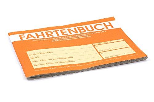All Ride Fahrtenbuch PKW 30 Blatt 31a StVZO