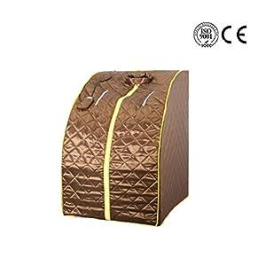 Wanforjewellery Faltender Ferninfrarot-Sauna-Raum, bewegliches Bad-Dampfbad-Raum-Ganzkörper-Begasungs-Zelt-Sauna-bewegliche Zelt-Ausrüstung Turmalin