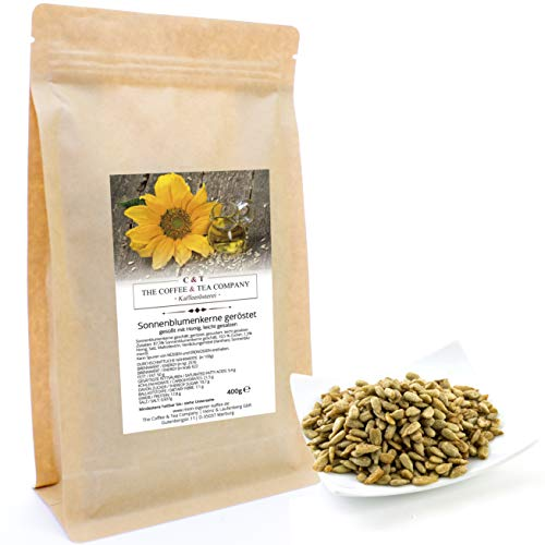 (C&T Sonnenblumenkerne geröstet mit Honig 400 g Nachfüllpack Knusperkalender)