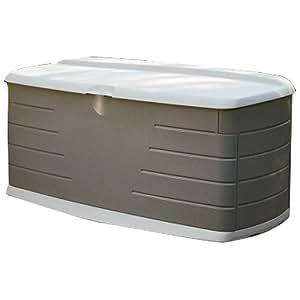 premium deck box patio pool storage waterproof bench rubbermaid in large outdoor design amazon. Black Bedroom Furniture Sets. Home Design Ideas