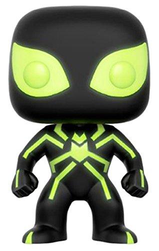 FunKo - Figurine Marvel - Spider-Man Stealth Costume Glow in The Dark Exclu Pop 10cm - 0889698125819