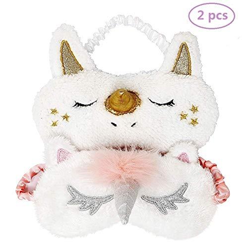OUTANG Augenmaske Cute Unicorn Funny Comfort Leichte Schlafmaske für Kinder Mädchen