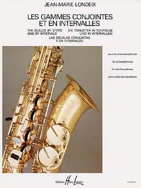 Partition : Gammes Conjointes et en Intervalles - Saxophone