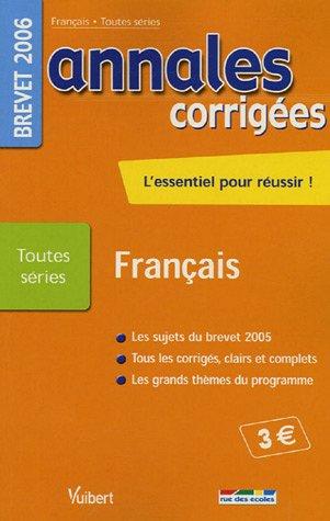 Français Brevet Toutes séries par Philippe Lehu, Sandra Mourad