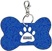 Sky Trends Bone Shape Collar Locket/Pendant for Dogs & Puppy -534, Multicolour, Medium, 1 Count - Ge