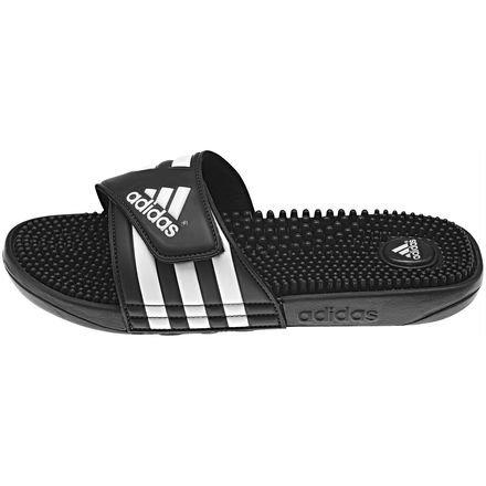adidas Herren Adissage Flip-Flops, Schwarz (Negro/Negro/Runbla), 53 EU