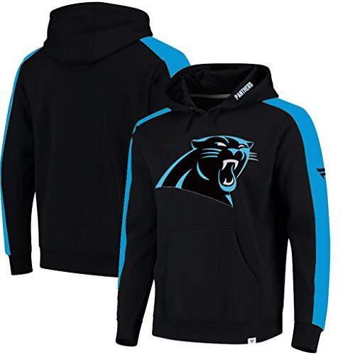 Carolina Pullover (YUNMO Carolina Panthers Langarm Trainingsanzug Pullover Laufen Fitness Freizeitkleidung (Size : S))