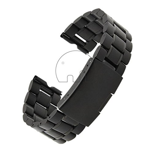 Preisvergleich Produktbild goldentrading 22mm Edelstahl Uhrenarmband für Motorola Moto 360Smart Watch + Tools