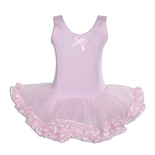 Big, Kinder, Mädchen, Rosa Trikot (Cinda Tutu / Ballettkleid Rosa 116-122)