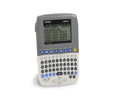 Royal Machines Extreme 7 Electronic Organizer PDA with 2MB Memory and 6-Line RoyalGlo Backlit Display by Royal Royal Pda