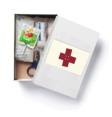 WANDLER®by Infinity Boxes Notfallbox, klein, B11,3xL17,3xH7cm, creme-weiß