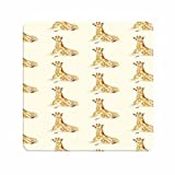 Personalised The Giraffes Retro Vintage Thin Material Mouse Pad
