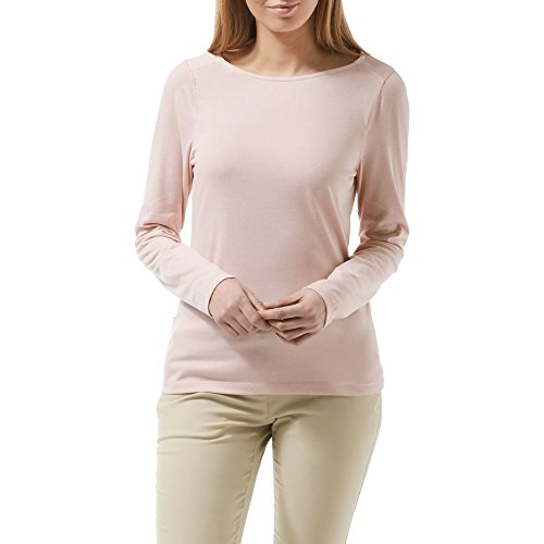 Craghoppers NosiLife WomensLadies Erin Long Sleeve Top (12) (Blossom Pink)