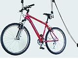 Deckenlift Deckenhalter Fahrradlift 20kg Fahrradgarage Fahrradhalter Seilzug für E-Bike Bike Lift bis zu 20Kg Tragkraft TÜV/GS geprüft