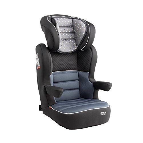Formula Baby siège auto groupe 2/3 Fix (15-36kg) pour enfant de 3 à 10 environ coloris delta gris
