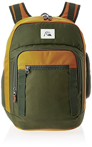 Quiksilver Mochila para hombre, diseño moderno y original, hombre, Rucksack Schoolie Modern Original Backpack, Forest night, 32 x 44,5 x 22 cm, 30 Liter
