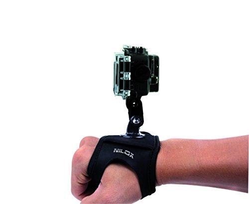 Nero Nilox Supporto da Polso per Action Cam