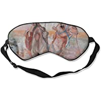 Sleep Eye Mask Camel Swimming Lightweight Soft Blindfold Adjustable Head Strap Eyeshade Travel Eyepatch preisvergleich bei billige-tabletten.eu