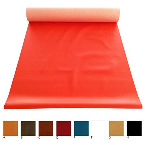 Tessuto ecopelle nero vendita al metro h140 cm finta pelle per rivestimenti 100%made in italy