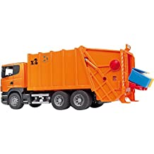 Bruder 3560 - Scania Müll-LKW orange
