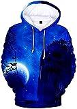 Kfacvy Halloween Cosplay Costume Hoodie for Men And Women Pullover Hoodie Sweatshirt,XX-Large