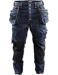 """Blakläder Handwerker-Bundhose """"Low Crotch X1900"""" Größe C150 in marineblau/Schwarz, 1 Stück, 199911418999C150"""