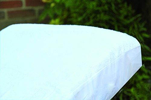 PMP Protector de colchón Bambú Blanco 40 x 80 cm