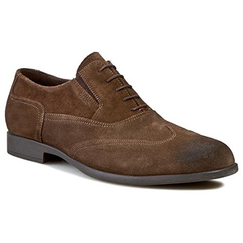 geox-mens-u-journey-lace-up-flats-brown-size-8