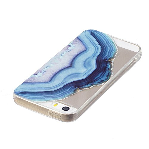 iPhone 5S / iPhone SE Hülle, Voguecase Silikon Schutzhülle / Case / Cover / Hülle / TPU Gel Skin für Apple iPhone 5 5G 5S SE(Aquarell 12) + Gratis Universal Eingabestift Aquarell 16