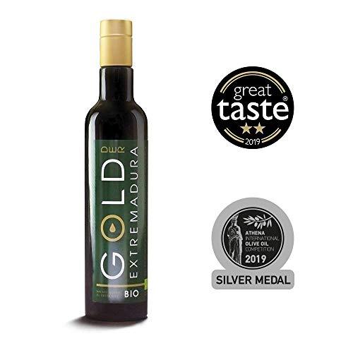 Bio Olivenöl Nativ Extra | Fruchtig pikant | Bio Olivenöl kaltextrahiert direkt vom Erzeuger aus der spanischen Extremadura (250 ML)