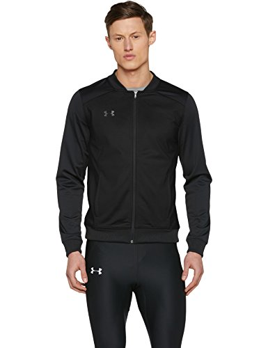 Under Armour Challenger II Track Jacket Parte Superior del Calentamiento, Hombre, Black (001), XL