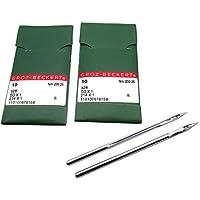 KUNPENG -20piezas Agujas para máquina de coser Groz-Beckert 214X1 DDX1 ajuste para Singer