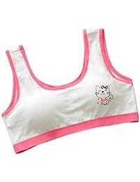 BBsmile Nueva Lovely Girls Impresión ropa interior sujetador chaleco niños Underclothes Sport Undies