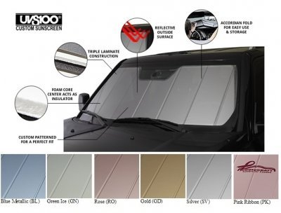 Covercraft UVS100 - Series Custom Fit Windshield Shade for Select