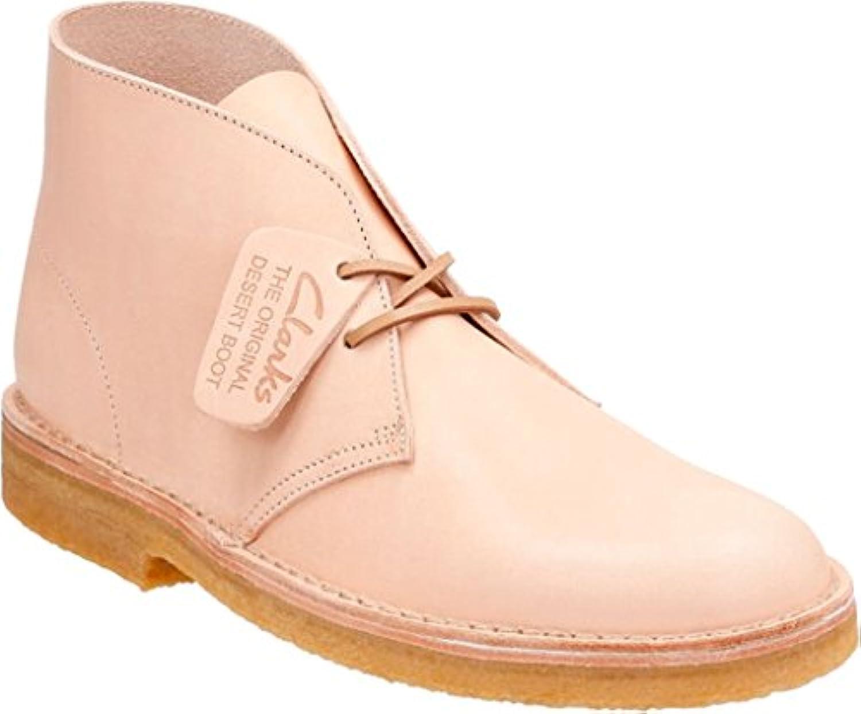Clarks   Mens Desert Boot Low Boot  Size: 13 D(M) US  Color: Natural Veg Tan Leather