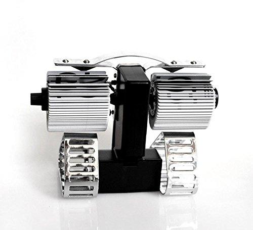 KHSKX Neue Seite über einen Roboter Tank Flip Uhr Mode Uhr kreative Wohnzimmer (Kostüm Moderne Roboter)