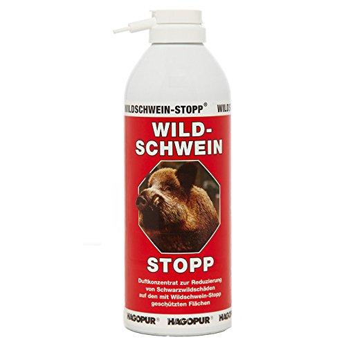 Repelente para jabalíes Stopp rojo - Repelente de 400 ml para jabalíes