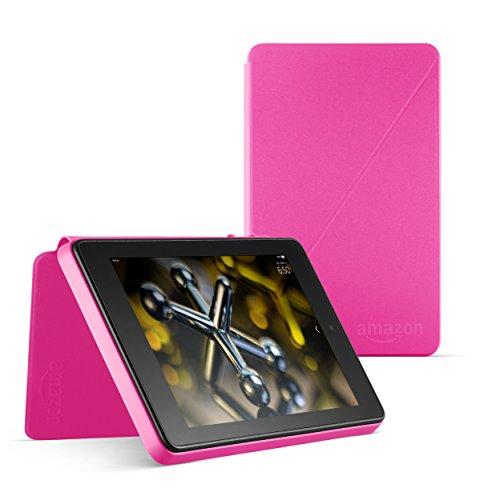 Schutzhülle mit Standfunktion für Fire HD 6 (4. Generation - 2014 Modell), Magenta Rosa (Entfernen Kindle Sie Inhalte Von)
